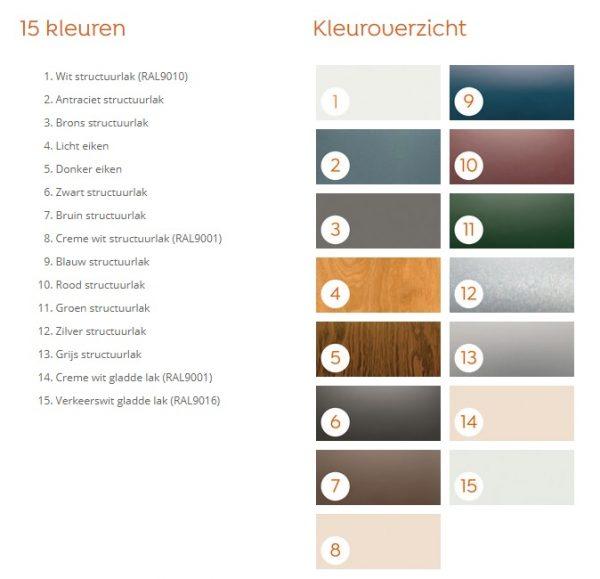 Verasol Kleuren